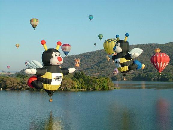 Lễ hội kinh khí cầu tại Canberra