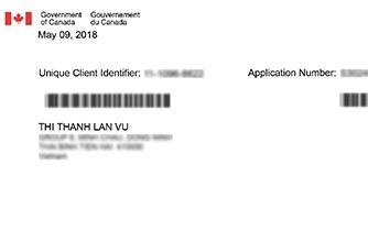 Hình Visa du học