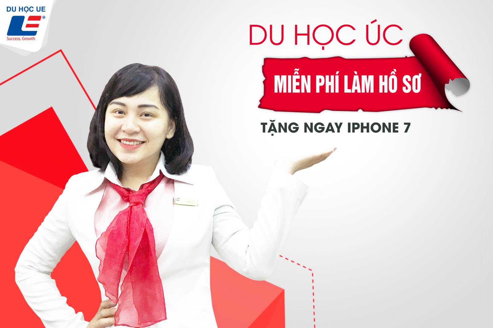 DU HỌC ÚC - LÀM HỒ SƠ MIỄN PHÍ - RINH NGAY IPHONE 7
