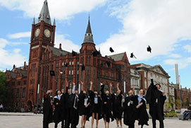 2017 - 2018 University of Liverpool Study Scholarships