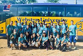 You can study in any continent on earth with Webster University