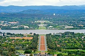 Canberra, Úc - Một trong 10 thủ đô trong lành nhất trên thế giới