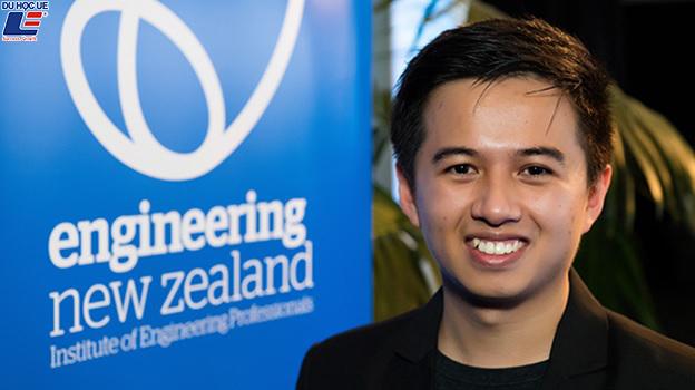 Chàng trai 9X người Việt giành giải thưởng sáng tạo cấp quốc gia New Zealand 1