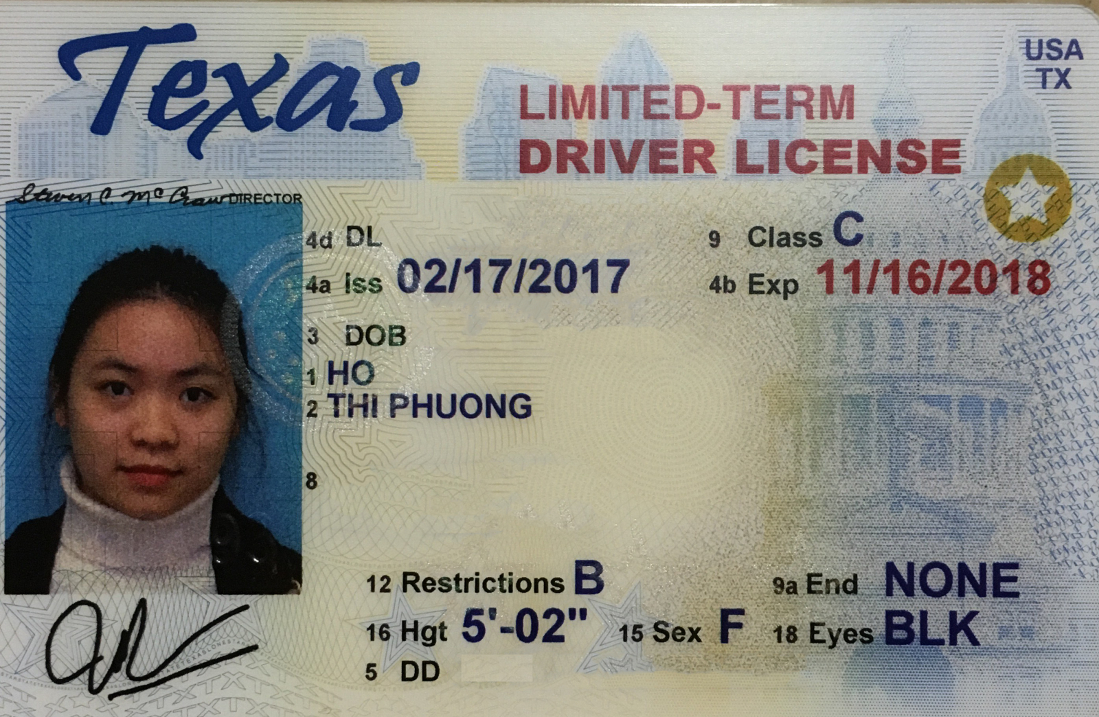 The In United Studying A License States Driver's
