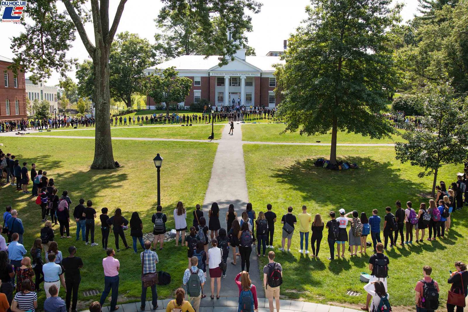 Cơ hội đặt chân đến Mỹ bằng học bổng toàn phần tại Amherst College 2