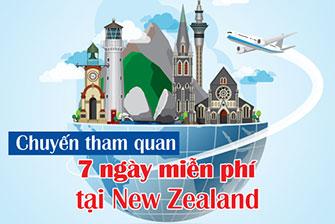Cơ hội du lịch New Zealand miễn phí 7 ngày - Cuộc thi Vietnam's My Future