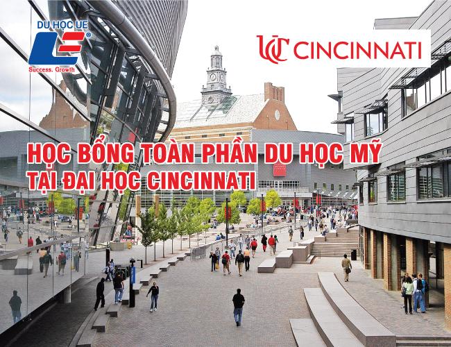 Học bổng tại Đại học Cincinnati 1