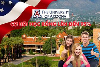 Cơ hội xin học bổng lên đến 95% của Đại học Arizona - Top 100 trường công lập trên toàn thế giới