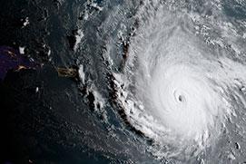 Cuồng phong Irma, cơn bão siêu mạnh chuẩn bị 'nhấn chìm' nước Mỹ