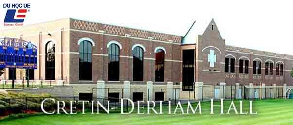 Học bổng tại trường trung học Cretin - Derham School 1