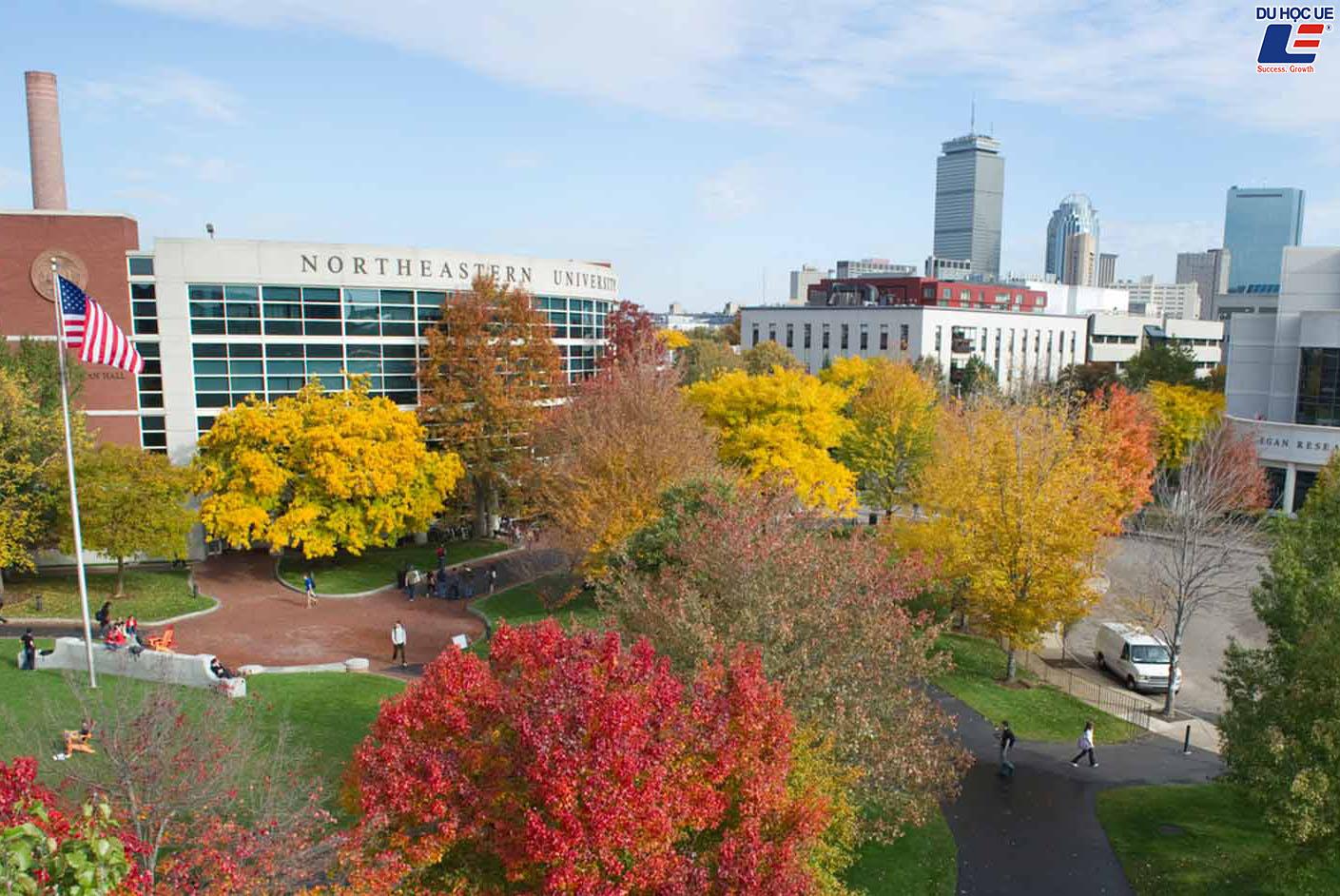 Du học cùng trường Đại học danh giá của Mỹ - Northeastern University
