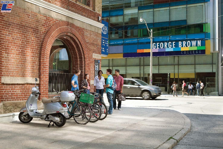 Du học học bổng tại George Brown College, Toronto - Biểu tượng phồn thịnh của Canada