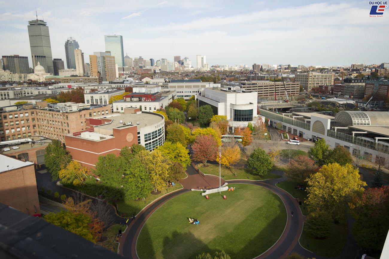Du học Mỹ bậc thạc sĩ không yêu cầu GMAT GRE tại Northeastern University