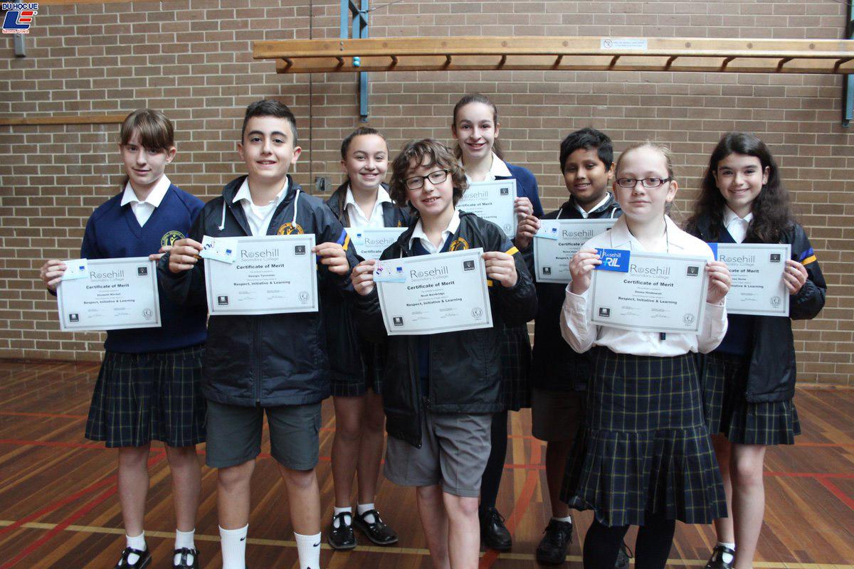 Du học New Zealand bậc trung học phổ thông tại trường Rosehill College