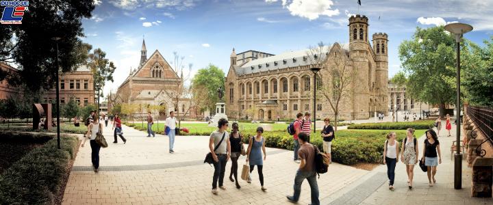 Du học Úc 2019 - Tìm hiểu trường Đại học Adelaide