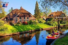 Ghé thăm các thành phố lớn của Hà Lan