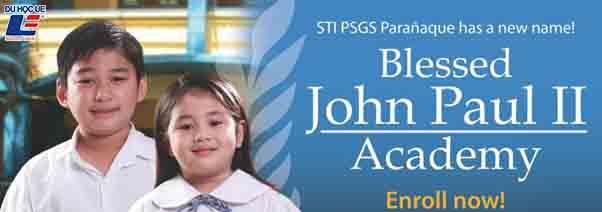 Học bổng John Paul II Academy 4
