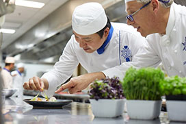 International scholarship from Le Cordon Bleu, New Zealand in 2017