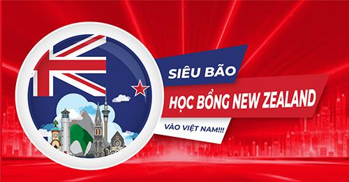 Học bổng chương trình trung học lần đầu tiên của chính phủ New Zealand dành riêng cho du học Việt Nam
