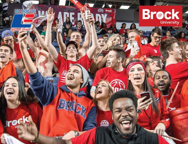 Học bổng từ trường Đại học Brock 4