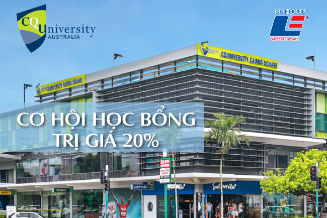 Học bổng Central Queensland University 1