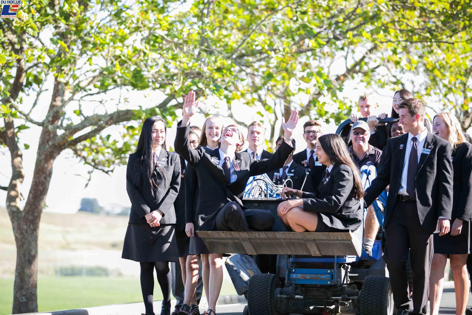 Học bổng hấp dẫn của chính phủ New Zealand dành cho chương trình trung học phổ thông vào trường Long Bay College