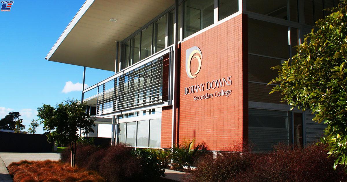 Học bổng hấp dẫn của chính phủ New Zealand dành cho chương trình trung học phổ thông vào trường Botany Downs Secondary College