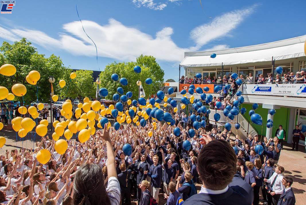 Học bổng hấp dẫn của chính phủ New Zealand dành cho chương trình trung học phổ thông vào trường Marlborough Girls' College 2