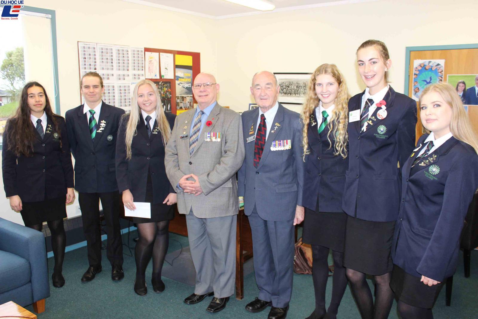 Học bổng hấp dẫn của chính phủ New Zealand dành cho chương trình trung học phổ thông vào trường Paraparaumu College 2