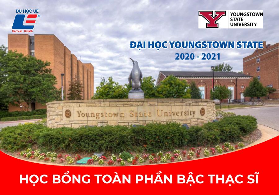 Học bổng toàn phần bậc Thạc Sĩ từ Đại học Youngstown State niên khóa 2020 - 2021
