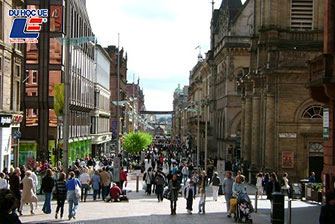 Study abroad in the Glasgow city, UK