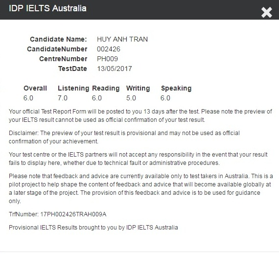 Experiences to achieve 6 0 IELTS in 09 weeks