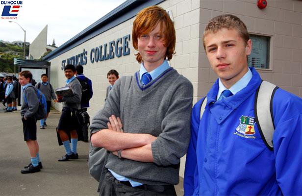 Thông tin học bổng du học New Zealand 2020 tại trường St Patrick's College Wellington