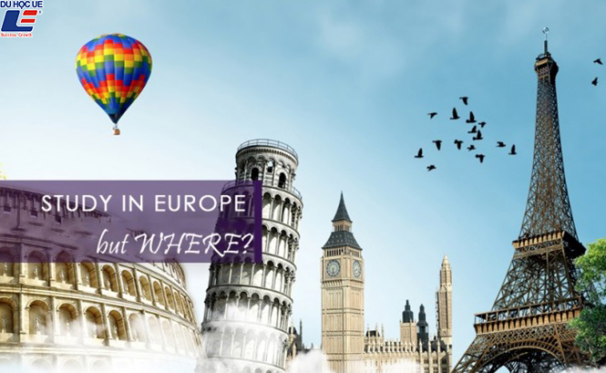 Học bổng du học Châu Âu 1