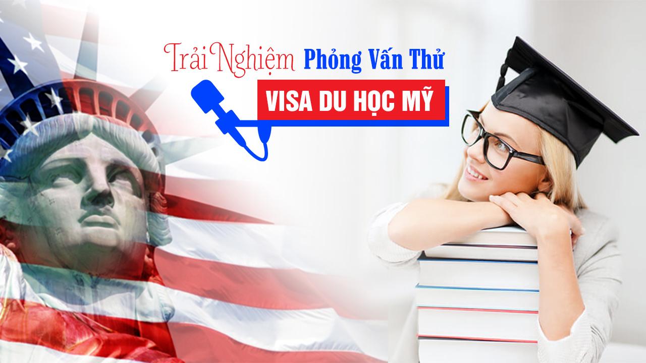 Trải nghiệm phỏng vấn thử visa du học Mỹ tại Triển lãm du học Mỹ - Canada - Úc - Anh 2017