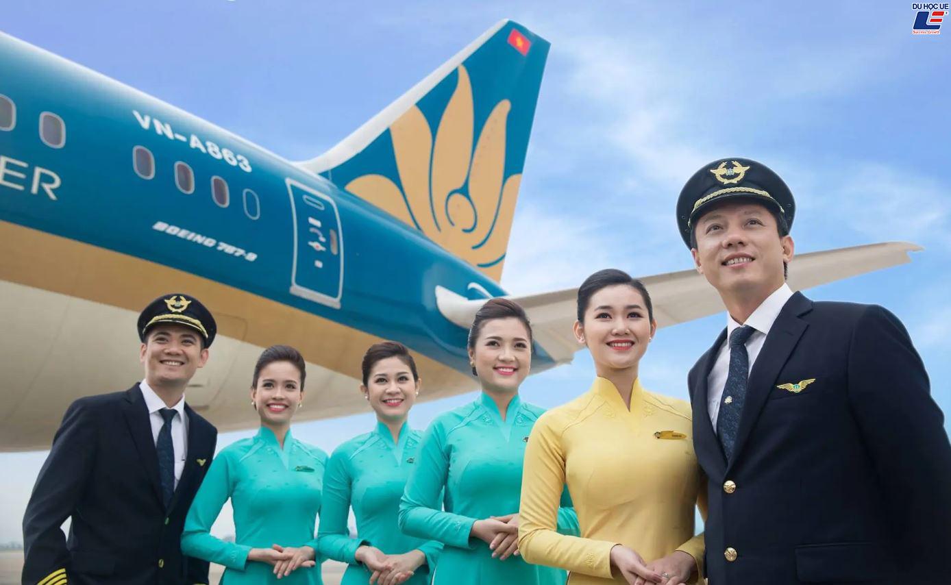 Bản tin của công ty du học uy tín UE ở tại Đà Nẵng, TPHCM, Huế về đường bay Vietnam Airlines chính thức mở lại đường bay quốc tế từ 1/7